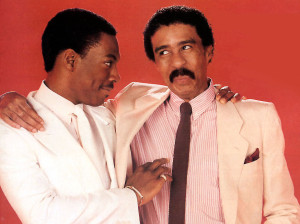 "Murphy (left) and Pryor (right) co-starred in the 1989 film ""Harlem Nights."" IMAGE: iloveoldschoolmusic.com"