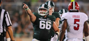 NCAA FOOTBALL 2014 - Aug 29 - Jacksonville State at Michigan State