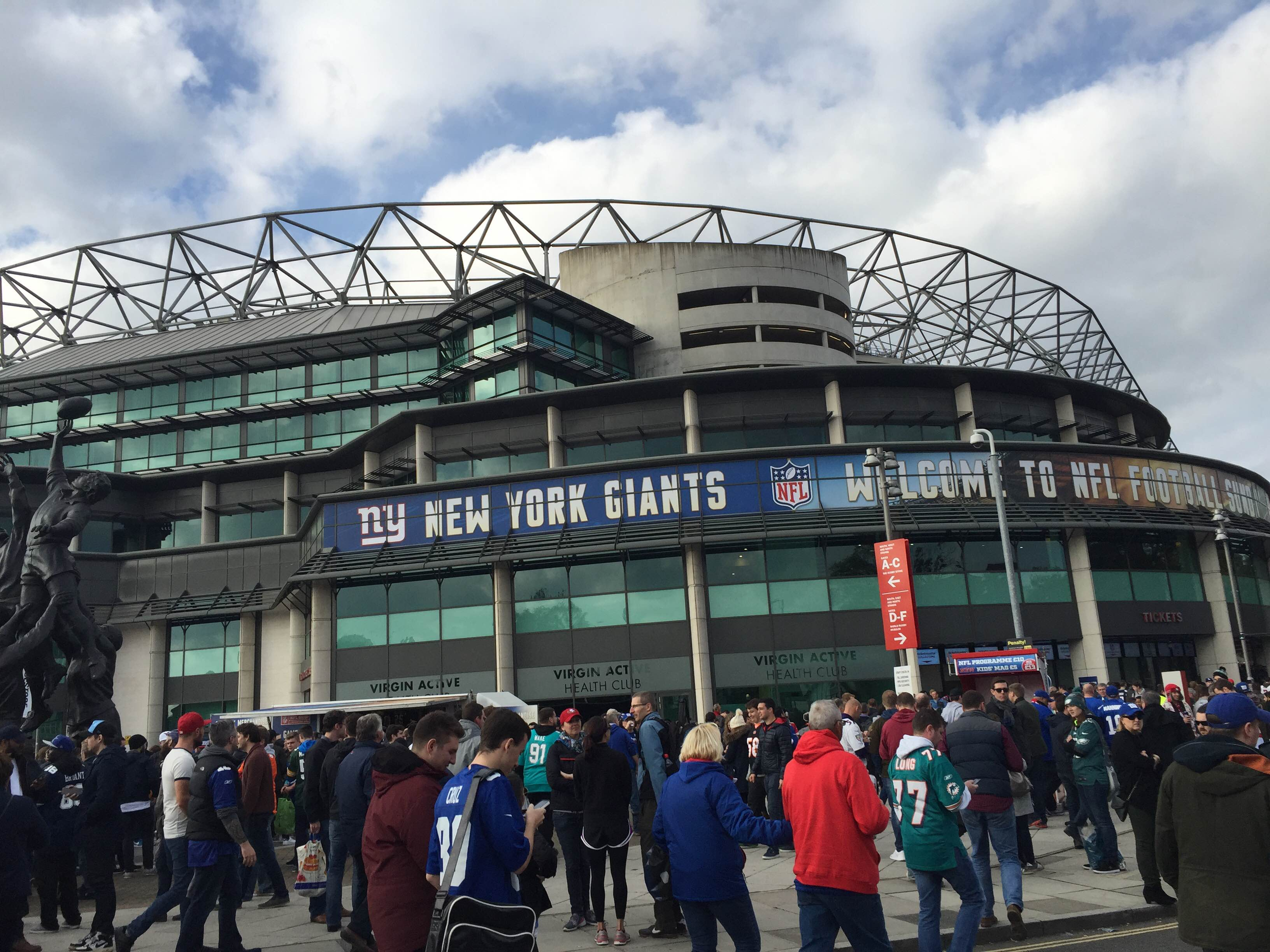 My Experience at an NFL Game in London