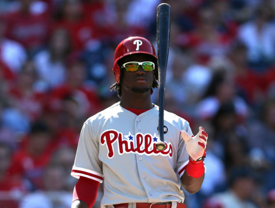 Phillies are Getting Frustrated with Odubel Herrera