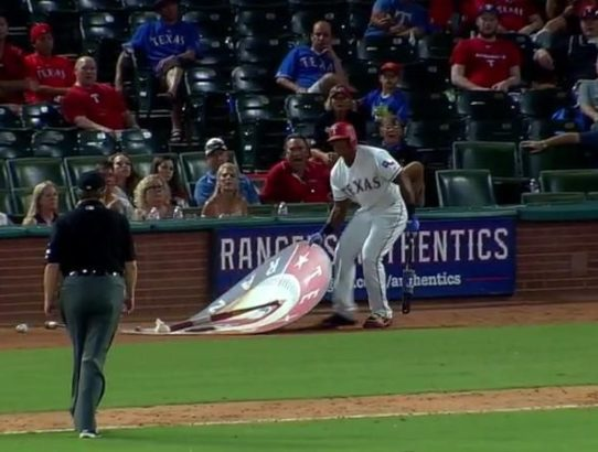 Rangers Troll MLB Umpires with Adrian Beltre Promotion