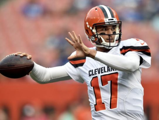 Brock Osweiler's Tenure in Cleveland May Be Over