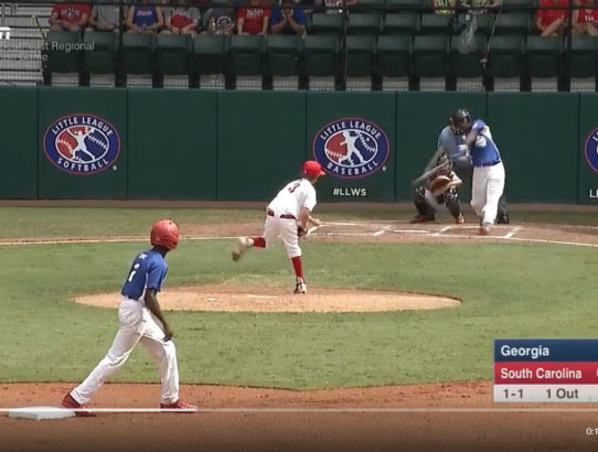 I'm Still Waiting for the Ball This Little Leaguer Hit to Land