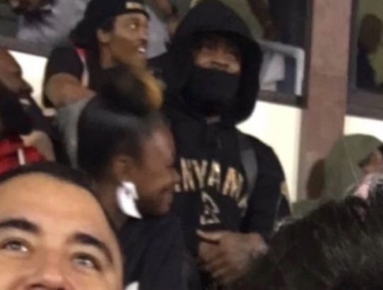 Marshawn Lynch Gets Ejected, Watches Game From Stands
