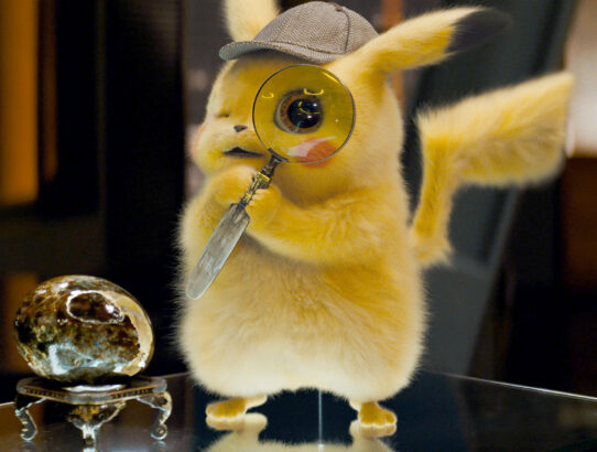 "Do We Have Our Next Film Franchise in ""Pokemon's Detective Pikachu?"""