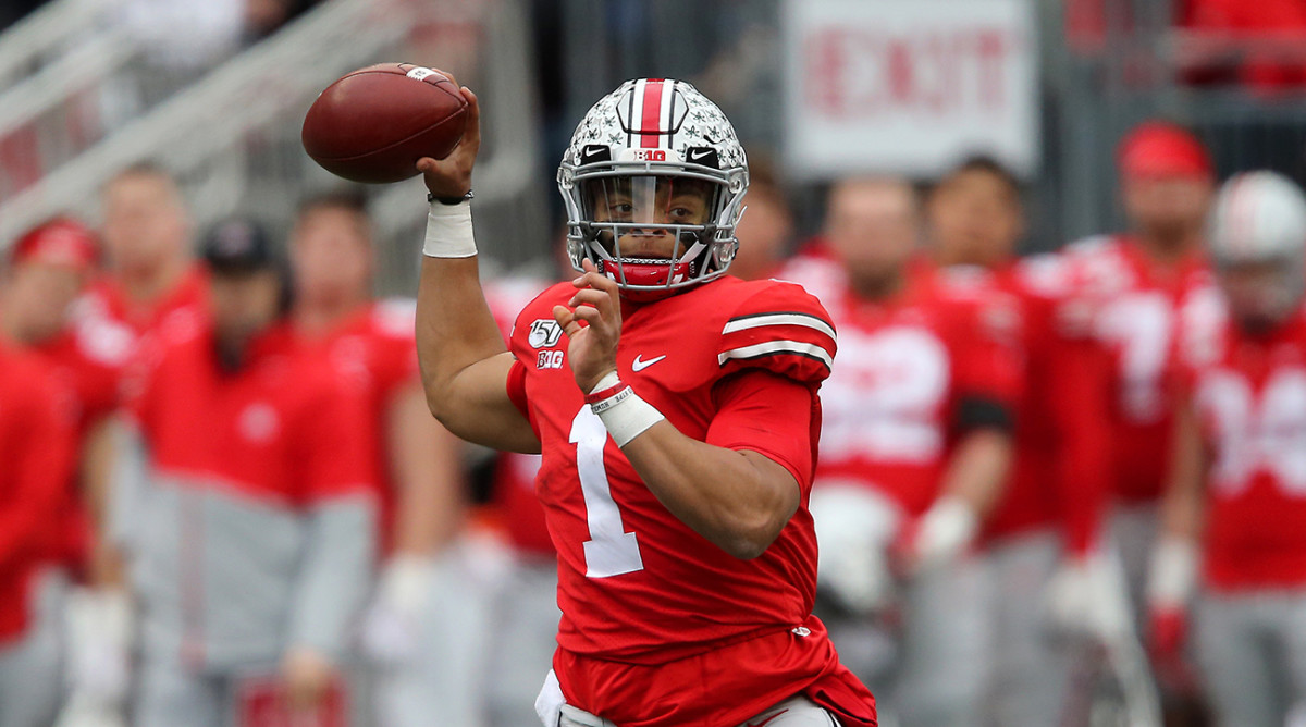 Throw Efficiency Grade: Justin Fields
